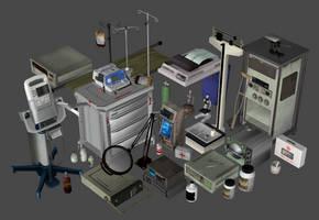 Medical prop pack for XPS v2 by DigitalExplorations
