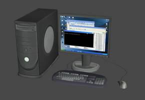 Desktop PC system (Dell clone) by DigitalExplorations