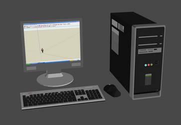 Compaq Presario desktop computer system by DigitalExplorations