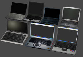Laptop Computer Pack by DigitalExplorations