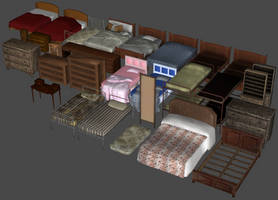 Bedroom Furniture Pack by DigitalExplorations