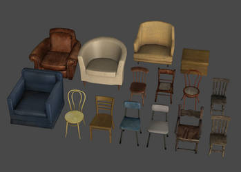 Homestyle Chairs Pack by DigitalExplorations
