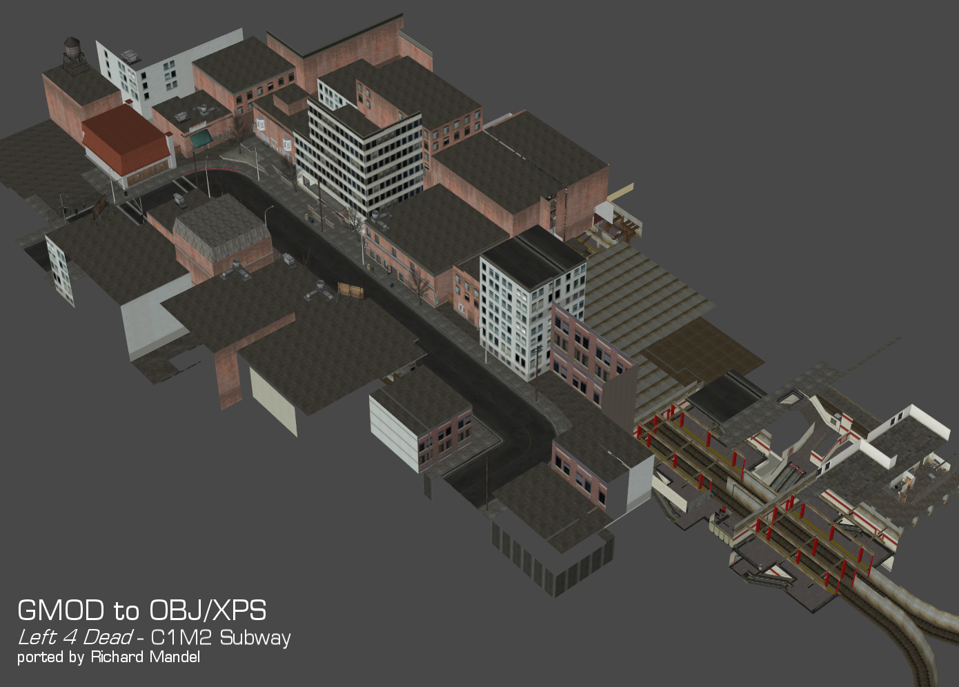 Left 4 Dead - C1M2 Subway (cleaned) by DigitalExplorations
