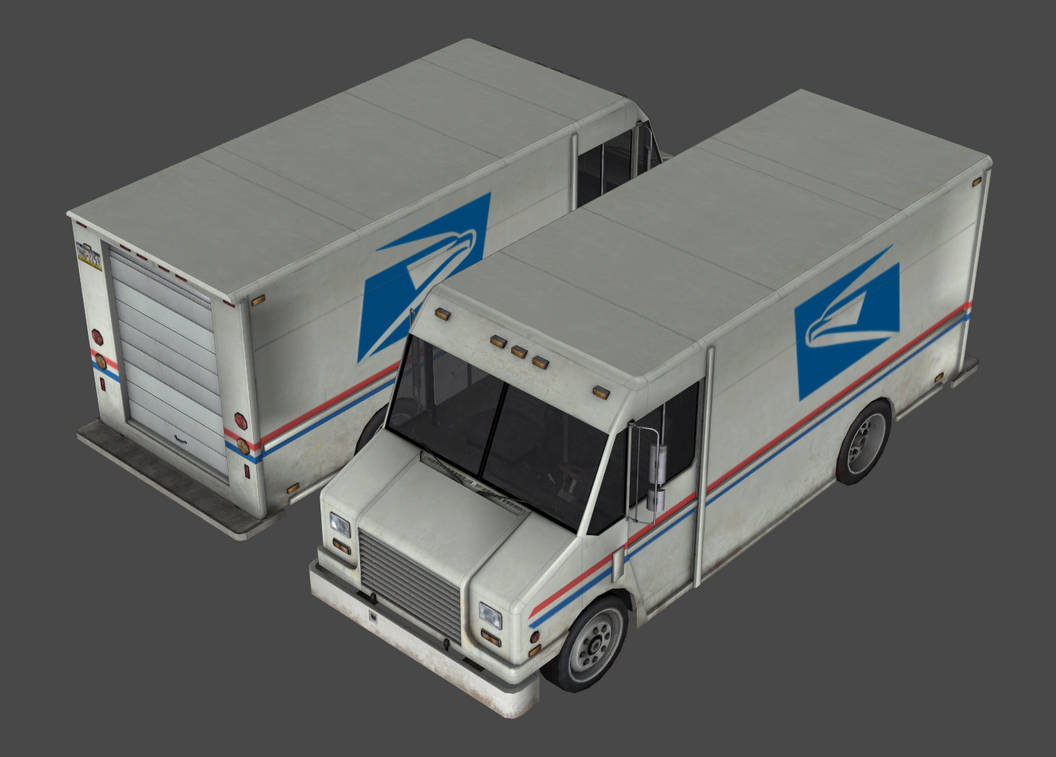 Utilimaster Aeromaster - USPS mail truck custom by