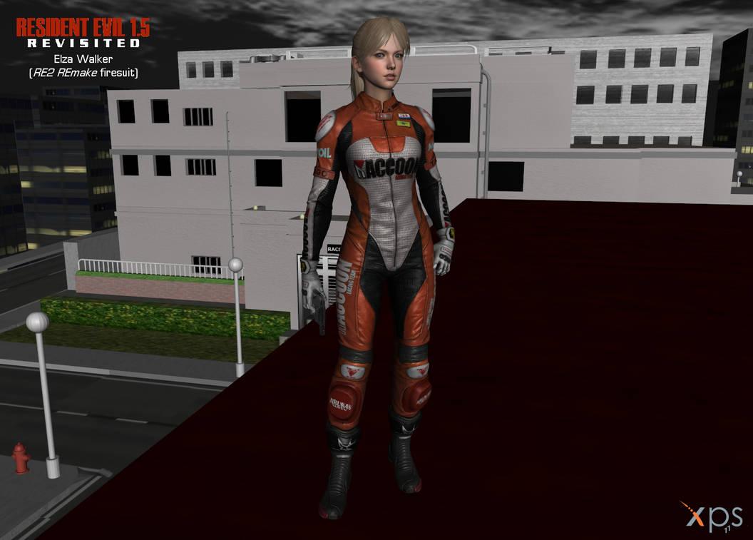 RE1 5 Elza Walker - RE2 REmake mod by DigitalExplorations on DeviantArt