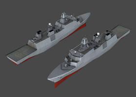 RDN - Iver Huitfeldt class frigate (NWAC)