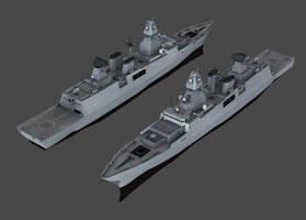 GER - Sachsen class frigate (NWAC)