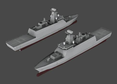 POL - Gawron class corvette (NWAC)
