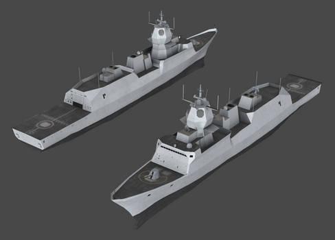 RNN - Fridtjof Nansen class frigate (NWAC)