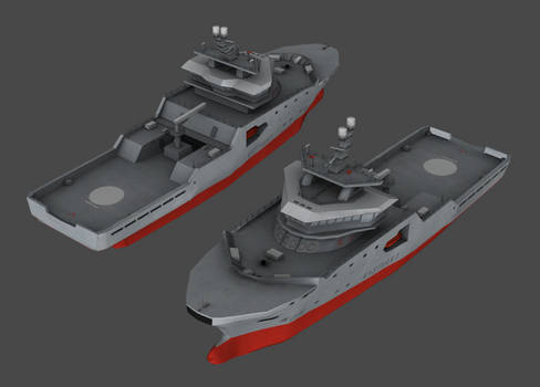 NOR - NoCGV Harstad patrol tug (NWAC)