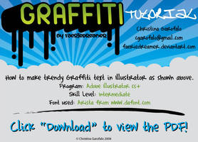 Trendy Graffiti Text Tutorial by Faeriedreamer