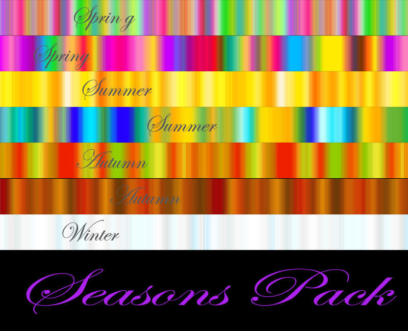 Seasons Gradient Pack by Leichenengel