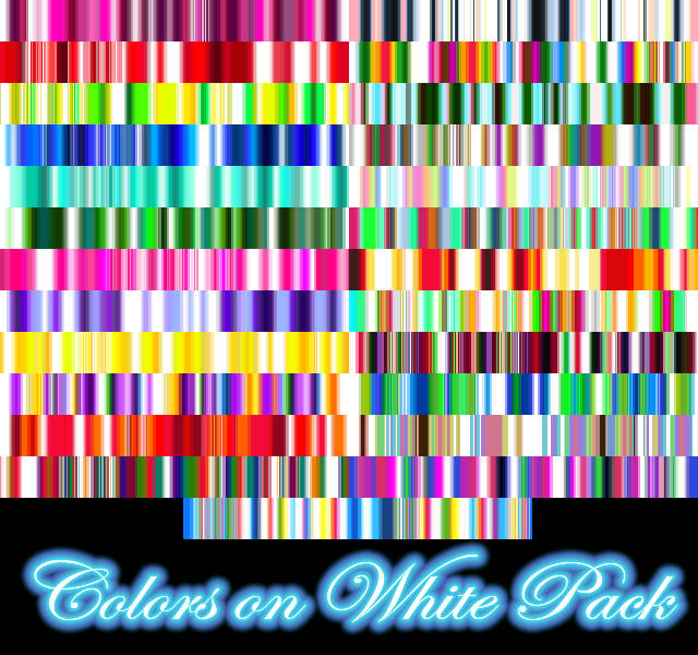 Colors on White Gradient Pack by Leichenengel
