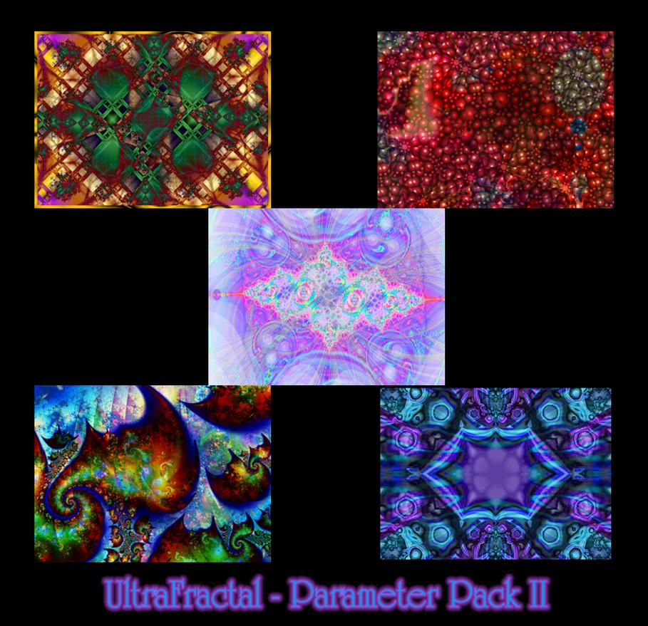 UltraFractal Parameter Pack II by Leichenengel