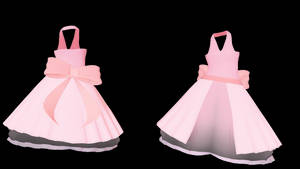 MMD TDA Fluffy Dress (Thanks for 80+) (DL) by kiraAnima