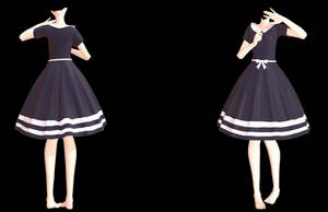 MMD TDA Simple dress (Thanks for 150+) (DL) by yaisa-hori