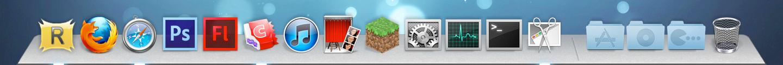 My Mountain Lion Dock Theme: Rocketdock by pseppy1