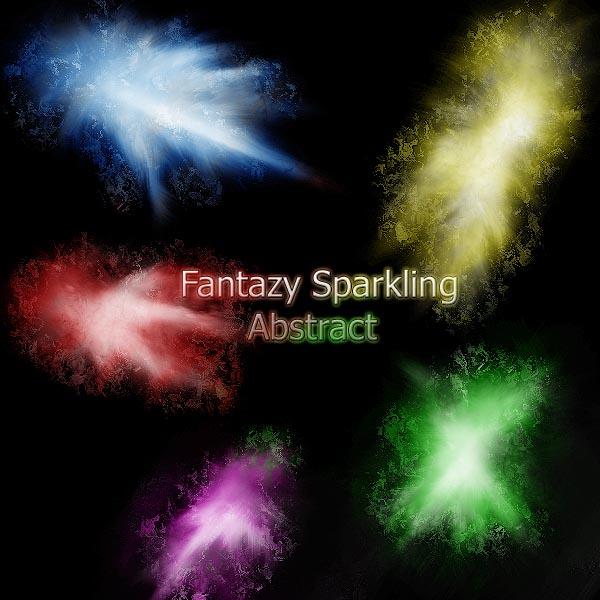 Fantazy Sparkle Abstract