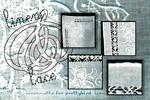 linen+lace textures