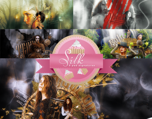 Signatures pack #3 by SilkofDespair