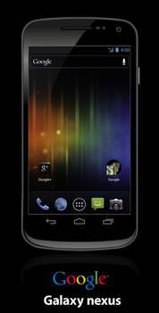 Google Galaxy Nexus - Vector