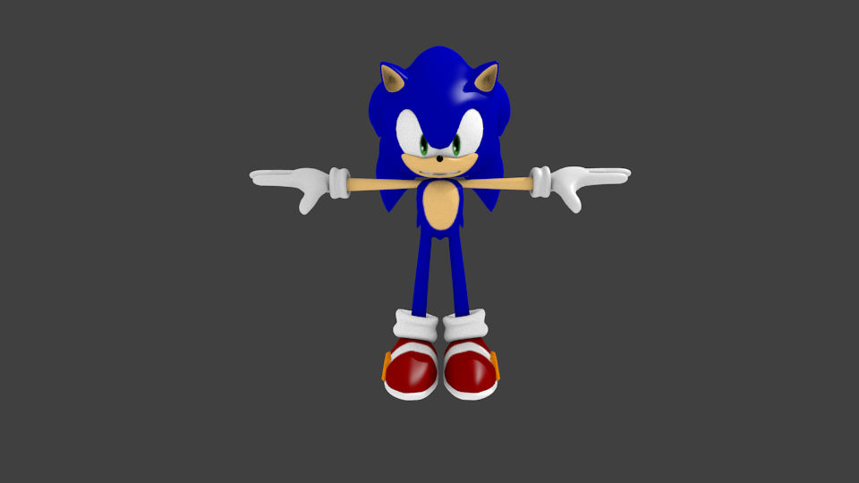 Sonic the Hedgehog (Turntable)