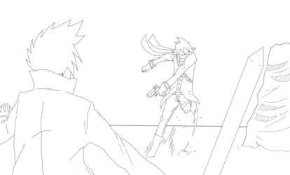 Yuriko vs Akira by DracoSwoordMaster123