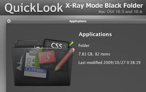 QuickLook X-RayMode Black by Gpopper