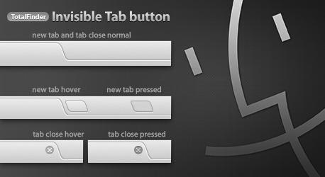 TotalFinder Tabs Button Replacement