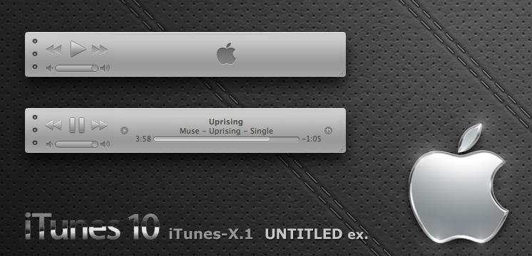 iTunes-X.1 UNTITLED ex. by Gpopper