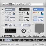 grain of OS X