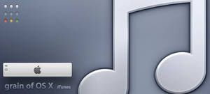 grain of OS X iTunes by Gpopper