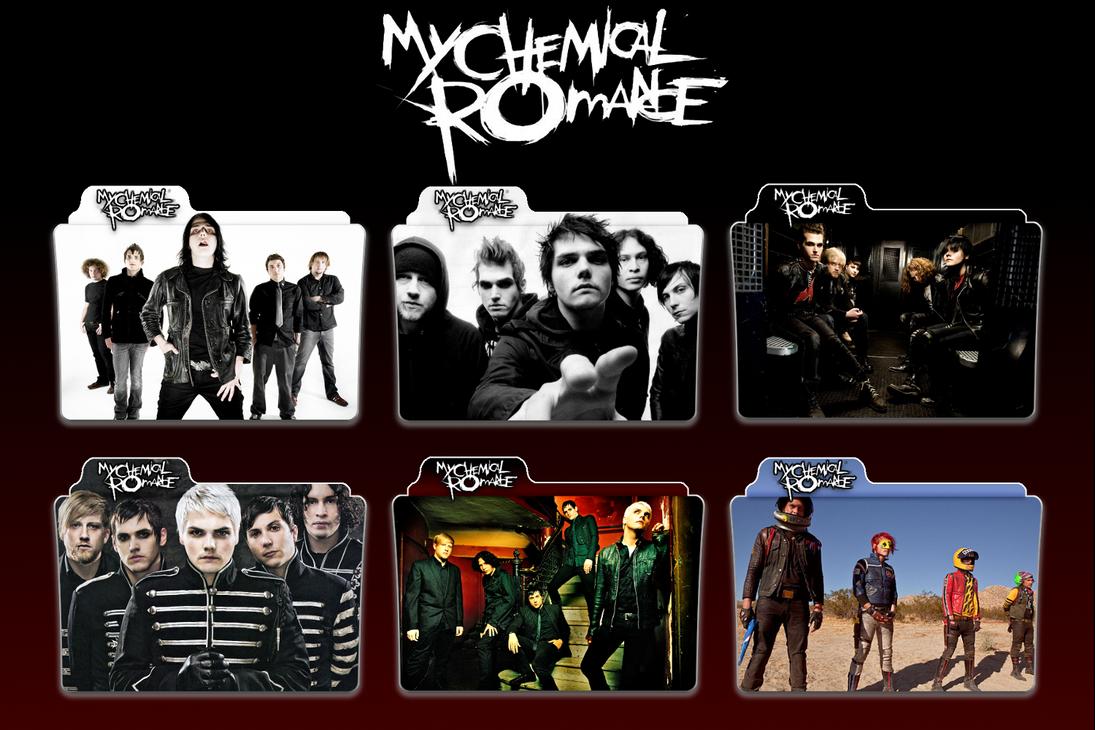 My Chemical Romance Folders by Gotham-Siren