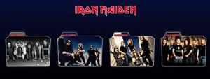 Iron Maiden Folders