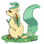 Leafeon Waterdrop [F2U - animated]