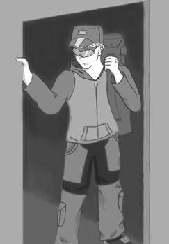 Freelancer to Hunter: Ch.1 Illustration