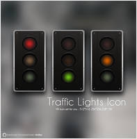 Traffic Lights Icon by OtherPlanet