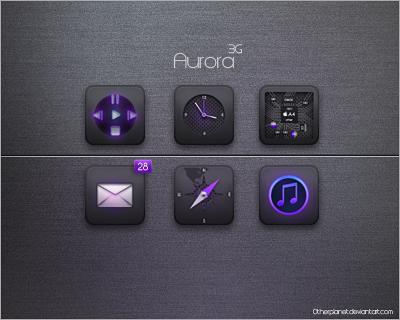 Aurora'3G Theme by OtherPlanet