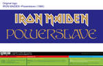Iron Maiden Powerslave 1984 (Logo) [vector source] by OlegLevashov