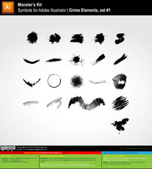 MK-Symbols Grime Elements #1