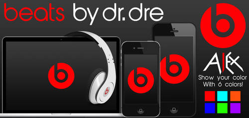 Beats By Dre Wallpaper Pack by alexrotondo
