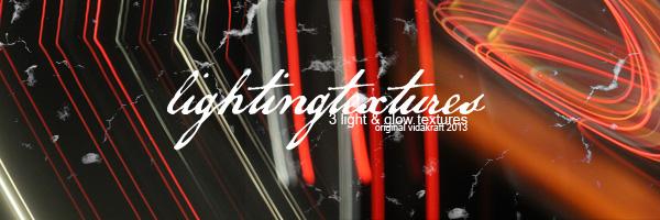 Lightglow Textures set: 6 by Vidakraft