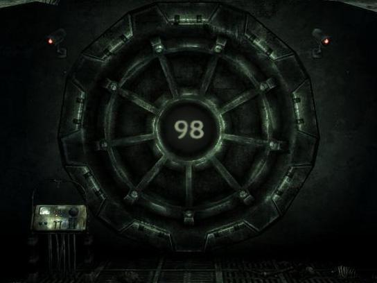 Fallout Vault Door fallout vault concepttacowrath on deviantart