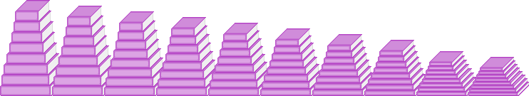 Stacking books