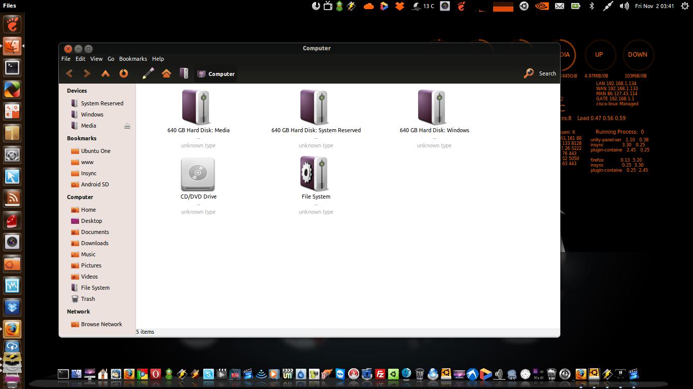FS-Icons-Ubuntu by caezsar