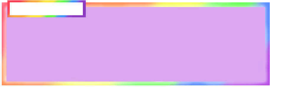 Rainbow Text Box By PokemonTrainerAthena
