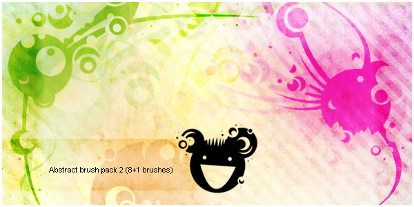 Abstract brush pack2
