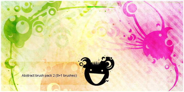 Abstract brush pack2 by JenniStock