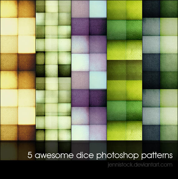 11 Awesome Dice Photoshop Patterns | My Free Design Resources