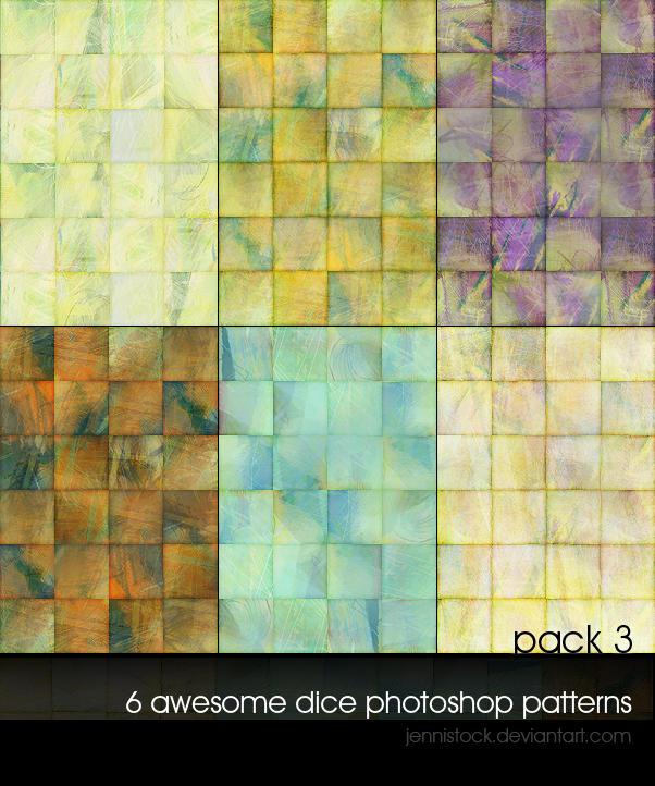 Dice patterns 3 by JenniStock